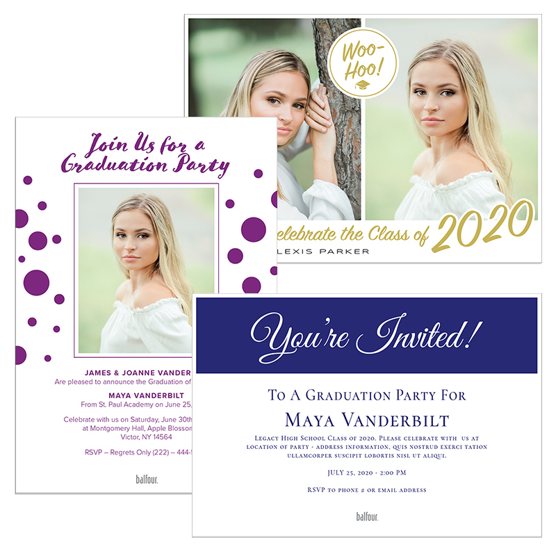 Photo Party Invitations